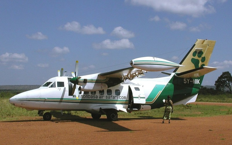 Flugsafari, Fly in,  in Kenia
