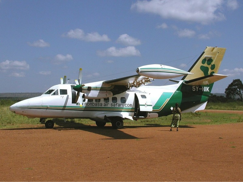 Flugsafari in Kenia